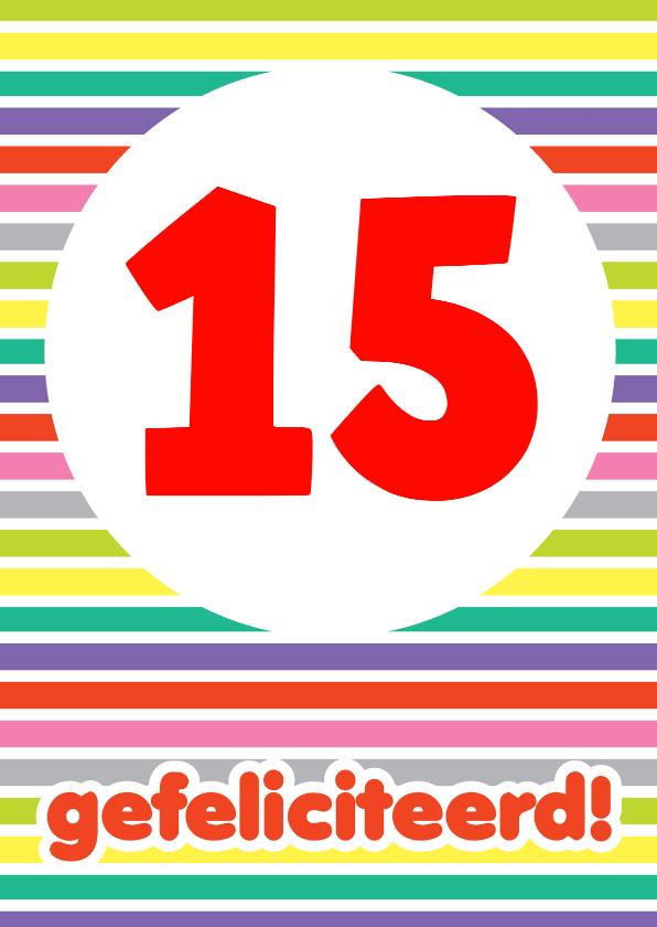 Verjaardag Streepjes Cijfers