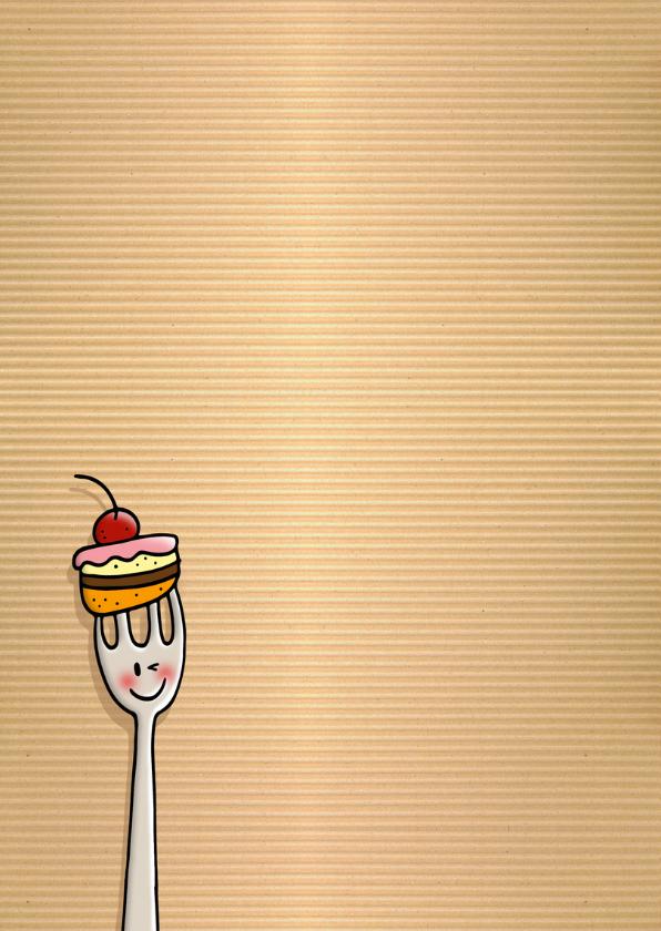 Verjaardag taart vorkjes 2