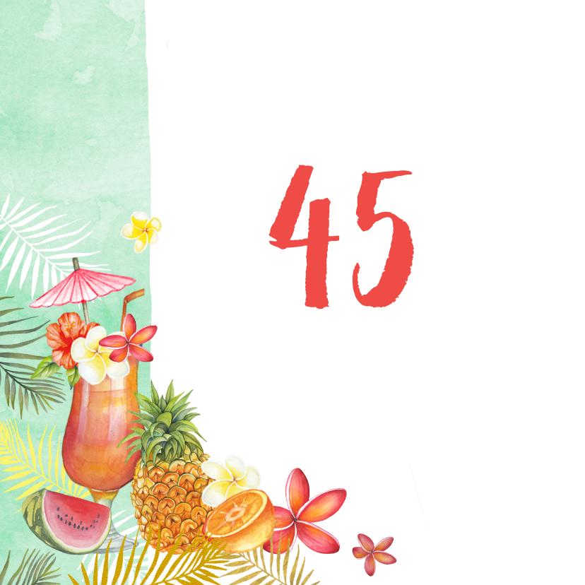 Verjaardag tropische cocktail 2