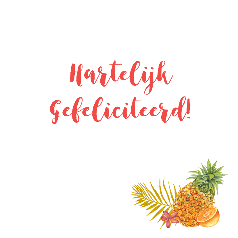 Verjaardag tropische cocktail 3