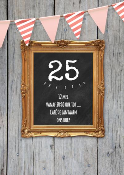 Verjaardag uitnodiging lijst 2