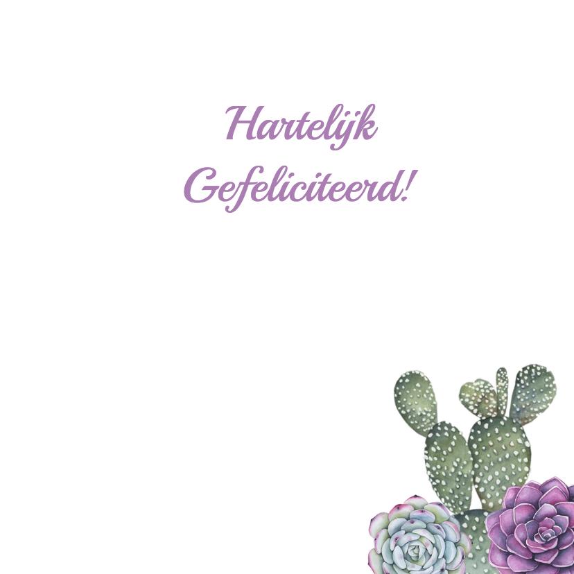 Verjaardag vetplant cactushanger 3