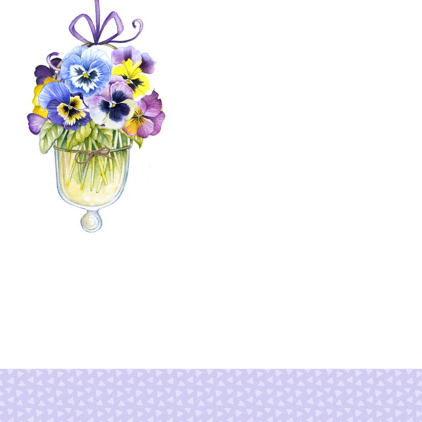 verjaardag viooltjes vaasjes 2