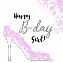 foto verjaardag vrouw Verjaardag Vrouw Pump   Verjaardagskaarten | Kaartje2go foto verjaardag vrouw