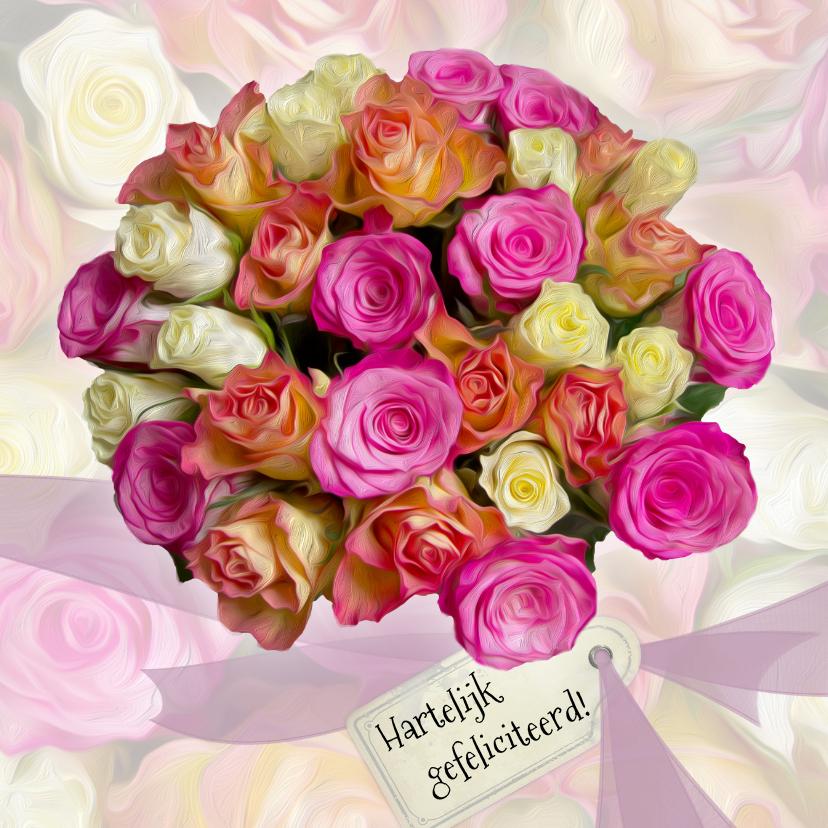 verjaardag vrouw rozen