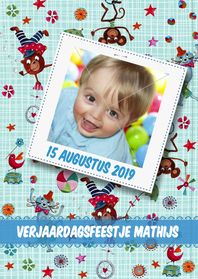 Kinderfeestjes - Verjaardagsfeest Circus Foto Cartita Des