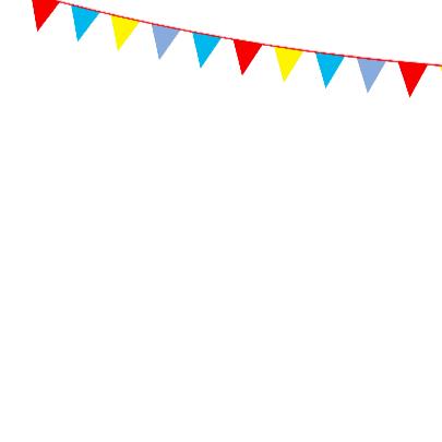 Verjaardagskaart 10 met vlaggen 3