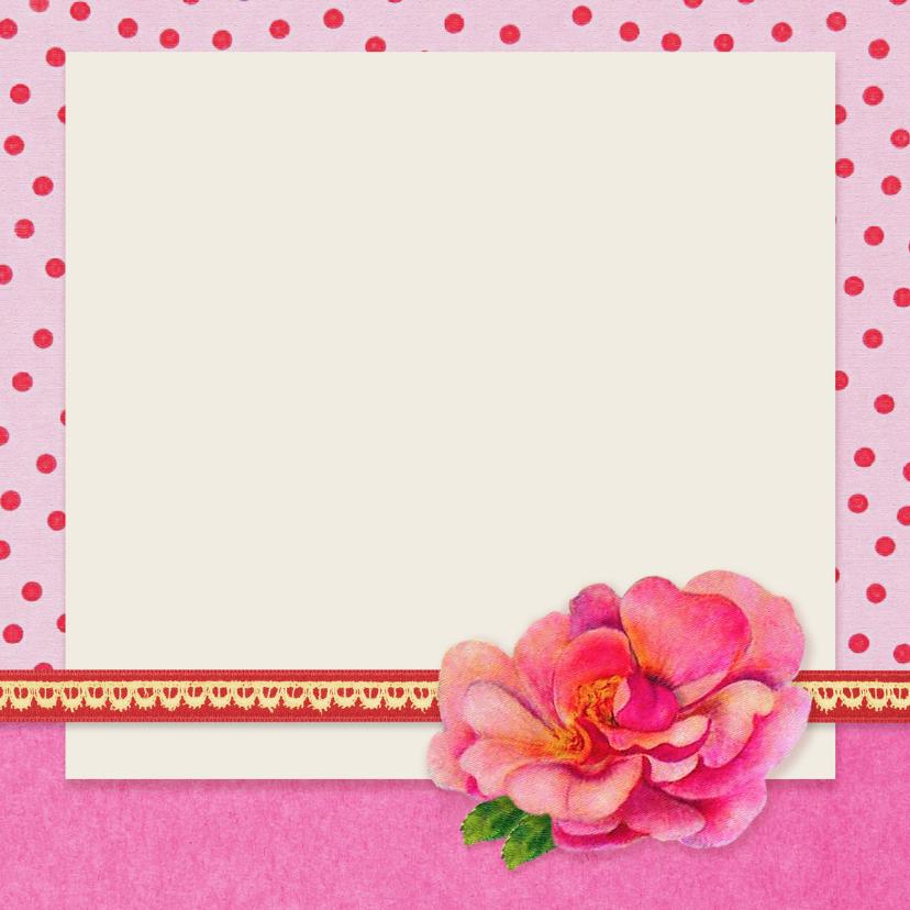 Verjaardagskaart 12 roze 3