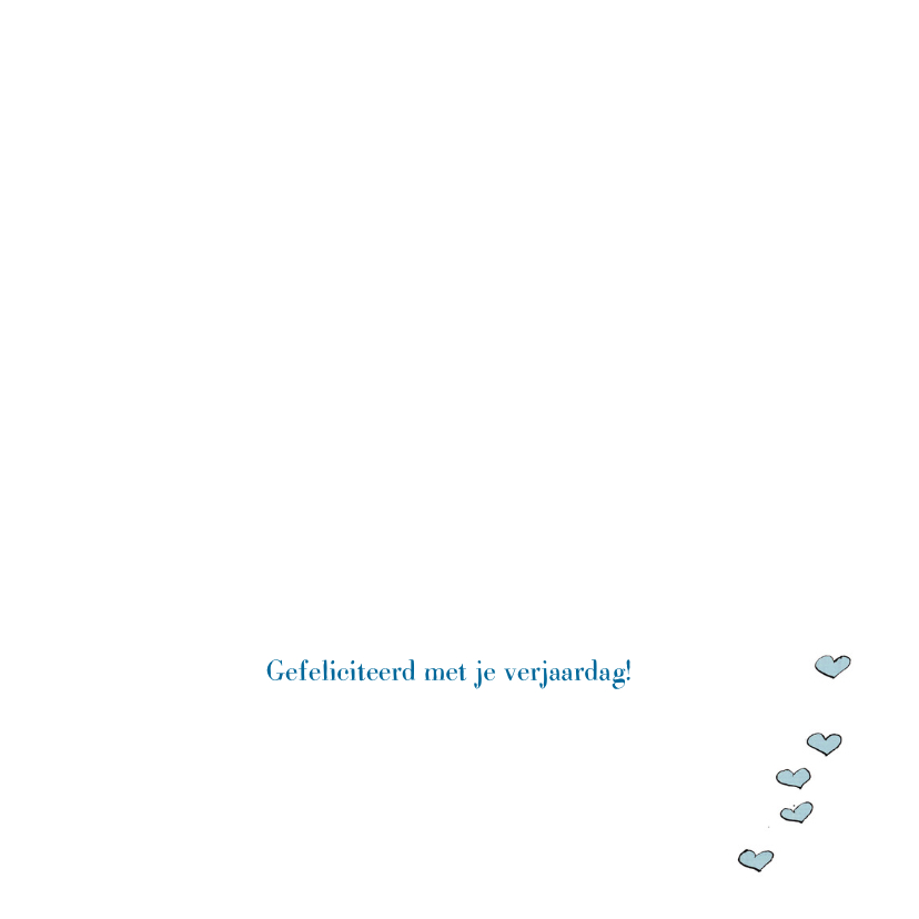 Verjaardagskaart 3 ballonnen 3