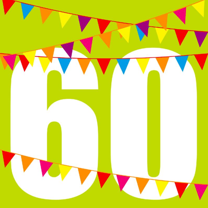 Verjaardagskaart 60 Jaar Man