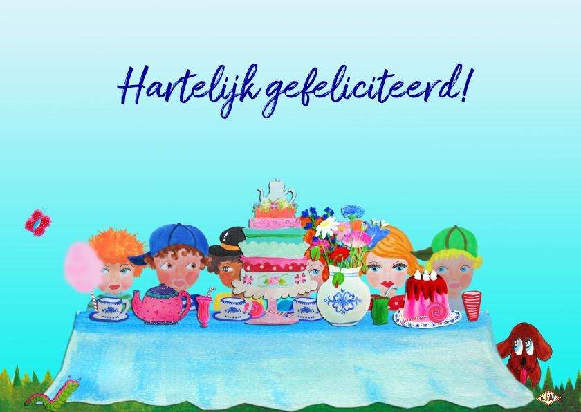 Verjaardagskaart Aan Tafel PA 3