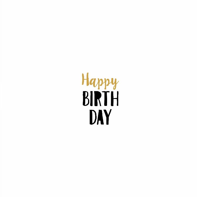 Verjaardagskaart Amazing 3