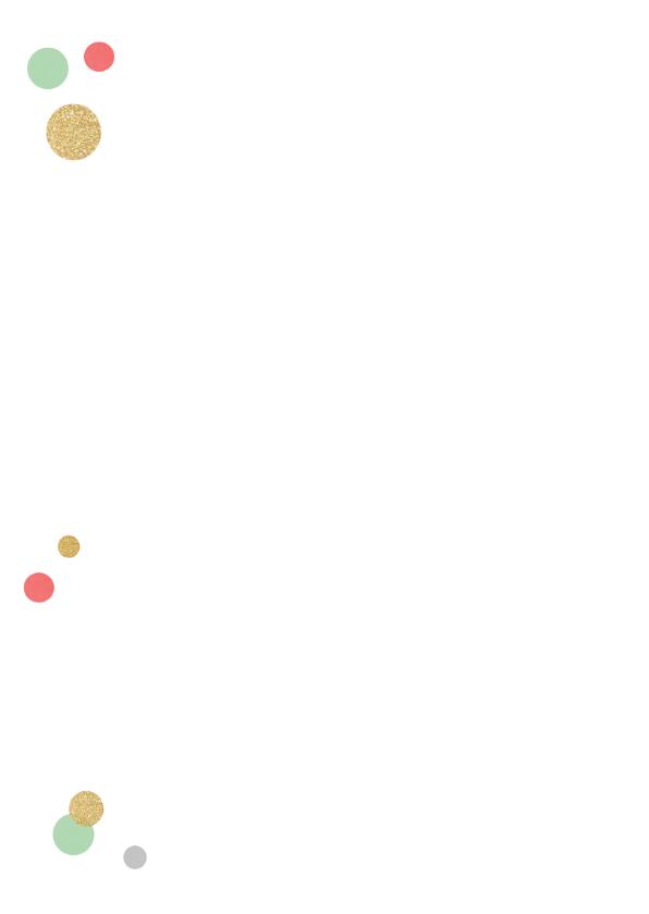 Verjaardagskaart ballonnen confetti 2