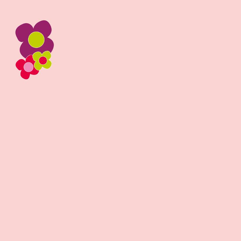 Verjaardagskaart bloemen - SZ 2