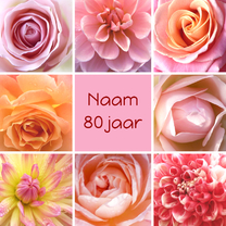 Verjaardagskaarten - Verjaardagskaart bloemenpracht