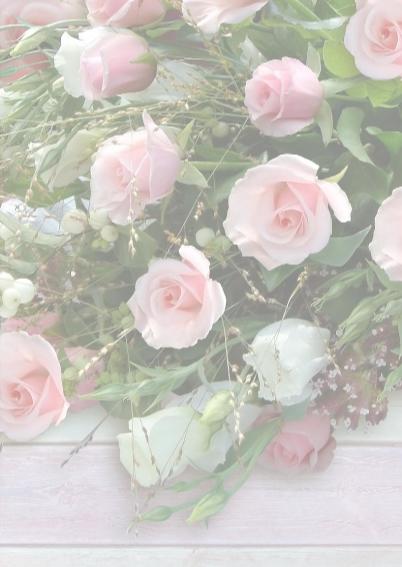 Verjaardagskaart bos rozen met steigerhout en hart 3