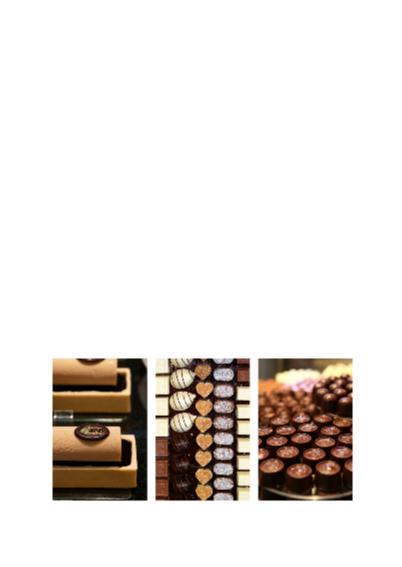 Verjaardagskaart collage chocolade 2