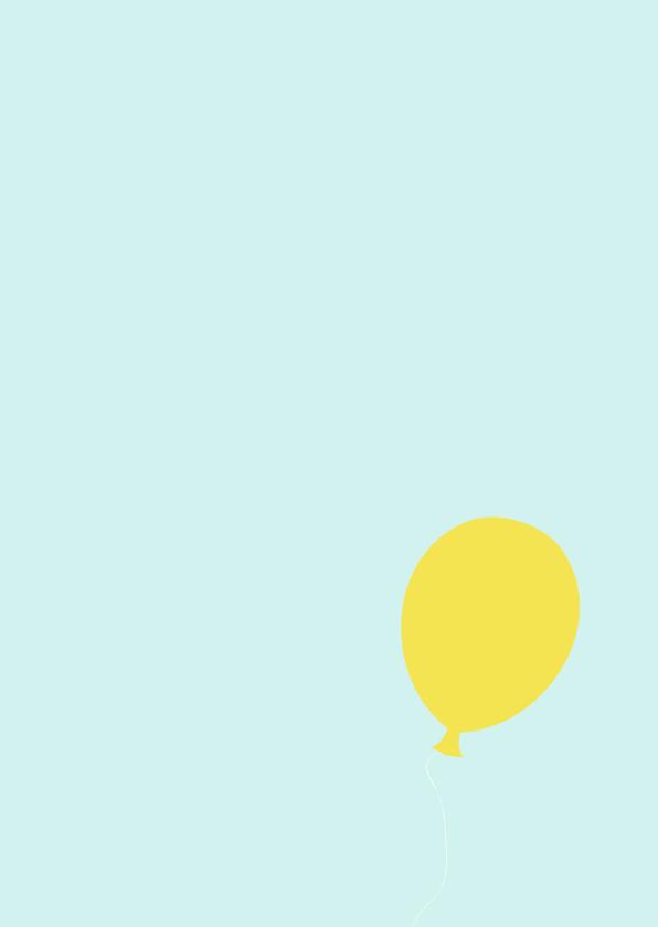 Verjaardagskaart: Een dik geslaagd Feestje! 2