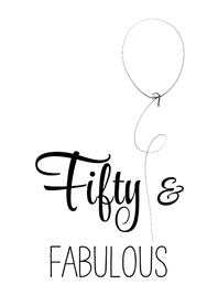 Verjaardagskaarten - Verjaardagskaart Fifty zww - SG