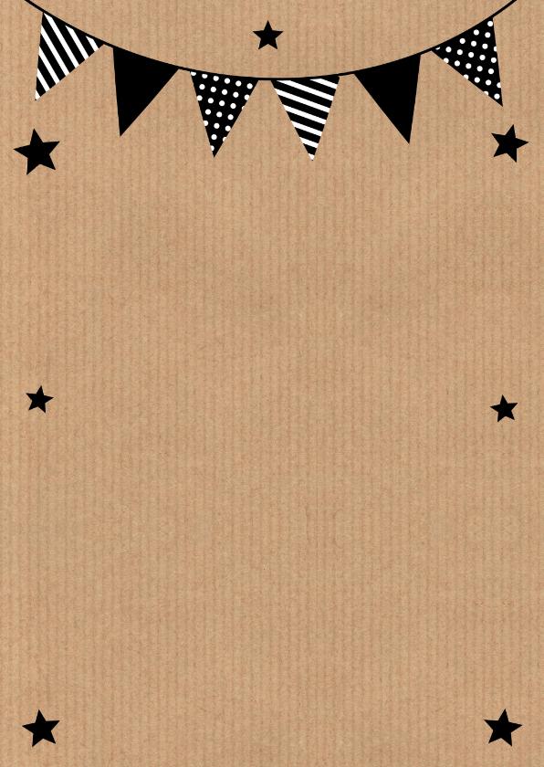 Verjaardagskaart fotocollage slinger kraft 2