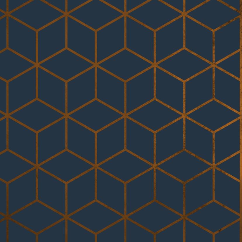 Verjaardagskaart geometrisch Happy Birthday  2