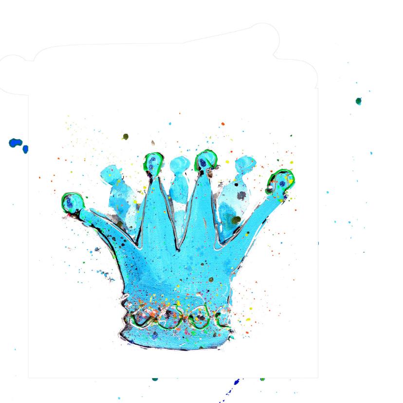 verjaardagskaart jongen Prins 2