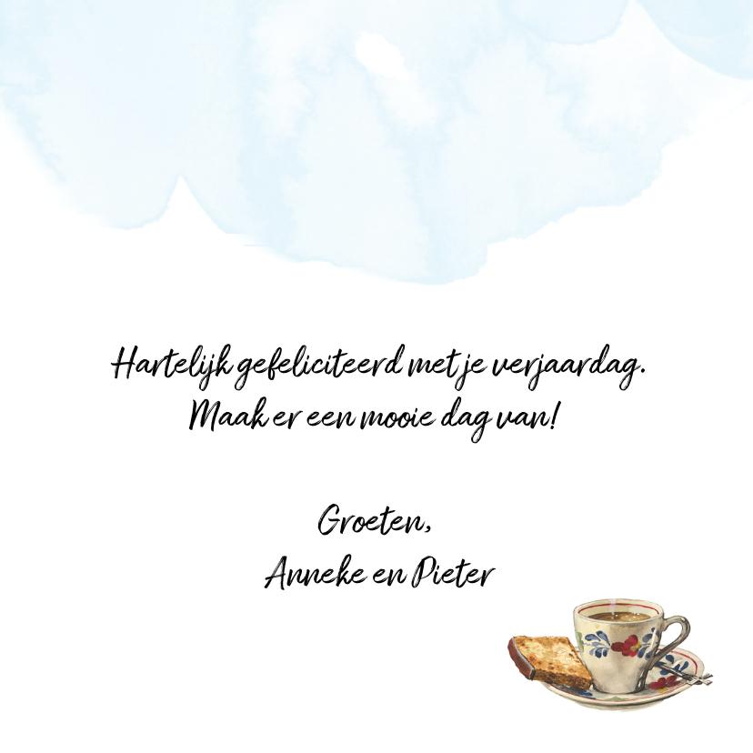 Verjaardagskaart Lang Leve de Boerderij Kopje Koffie 3