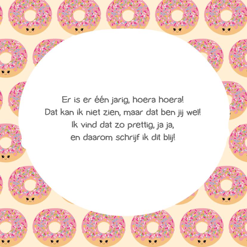 Verjaardagskaart let's go donuts 3