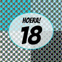 Verjaardagskaarten - Verjaardagskaart man 18 PA