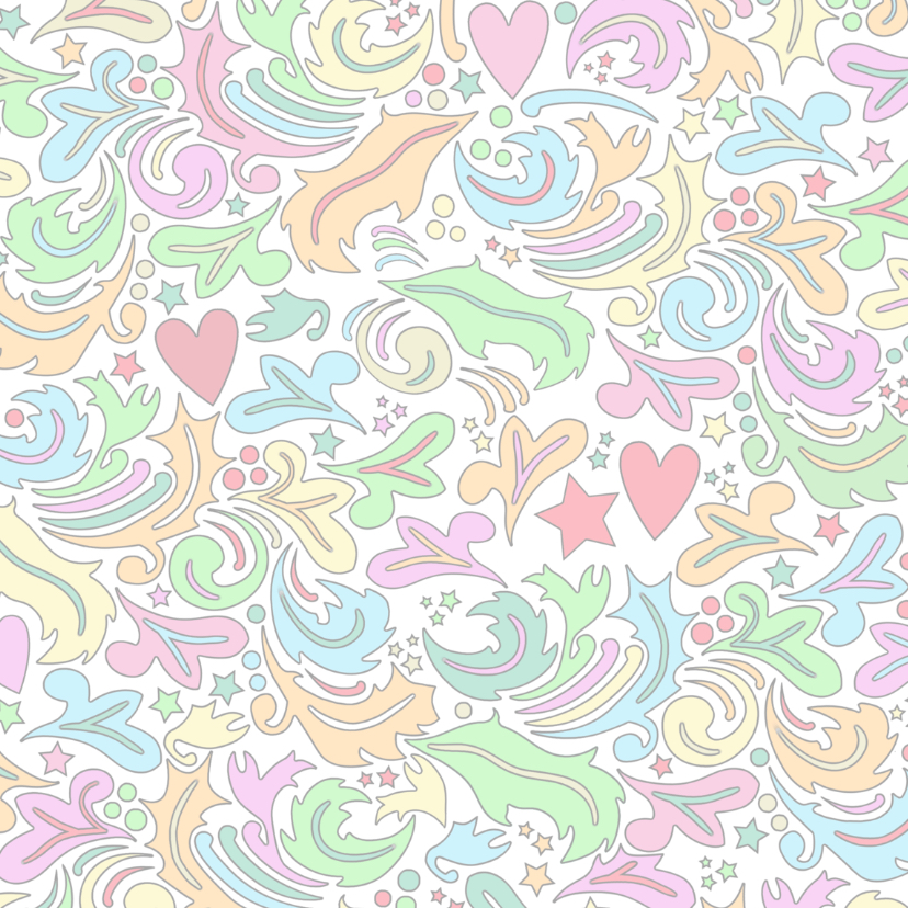 Verjaardagskaart met hart en vlinders op kleurige ondergrond 2