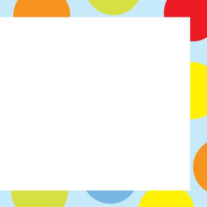 Verjaardagskaart met kleurige dots 3