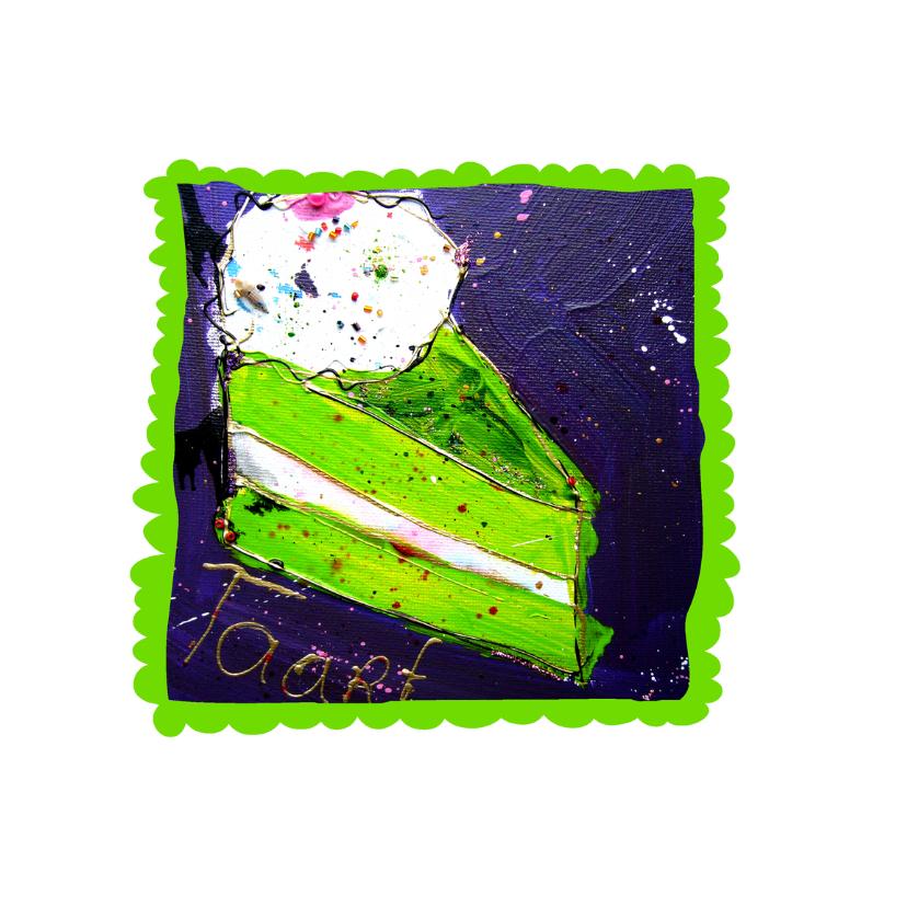 Verjaardagskaart met Taart 2