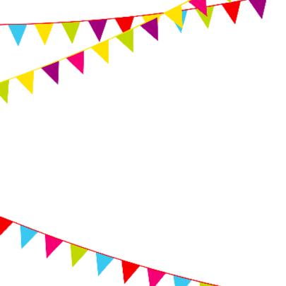 Verjaardagskaart met vlaggen 75 jaar 2