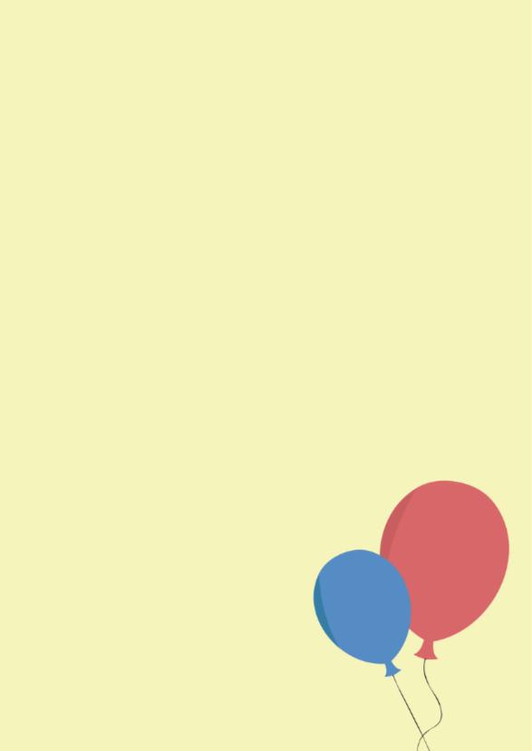 Verjaardagskaart op de kop 2