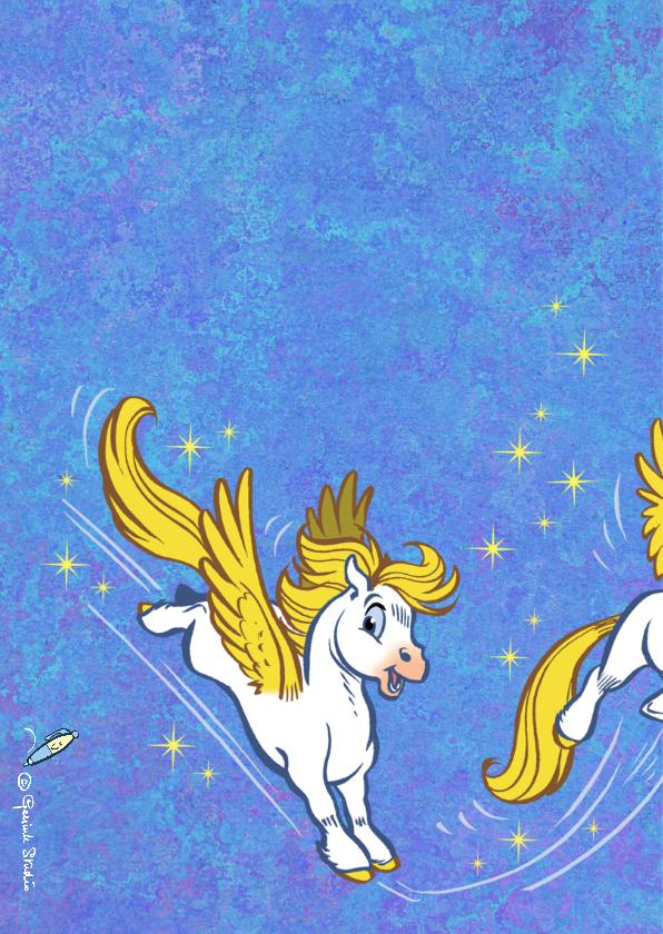 Verjaardagskaart paard Florian 1 - A 2