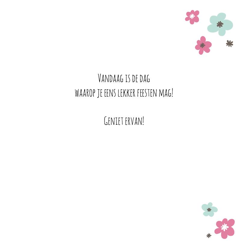 Verjaardagskaart Papier Hart 3