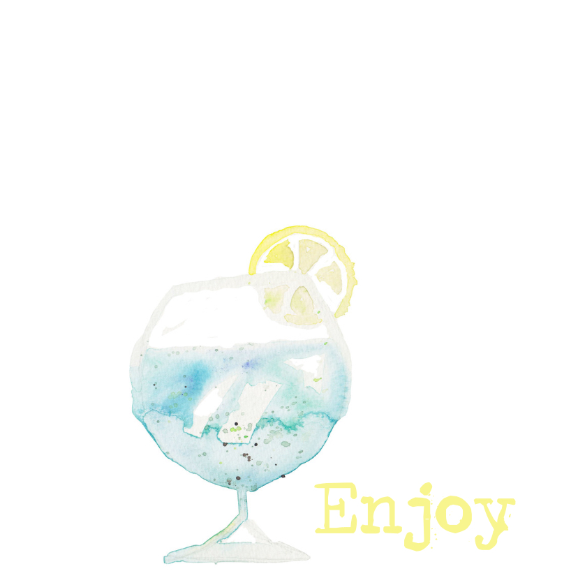 verjaardagskaart pastel cocktail 2