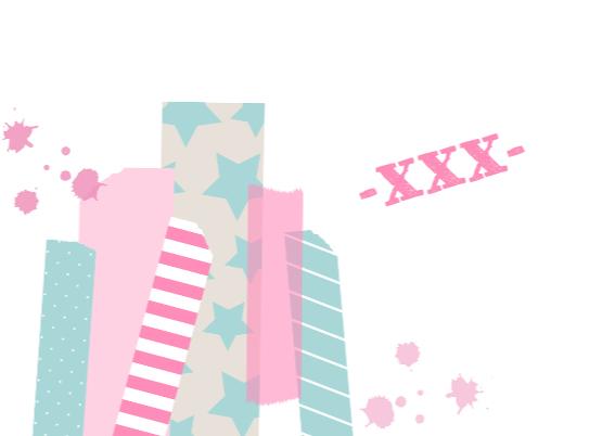 Verjaardagskaart Pink&Mint 3