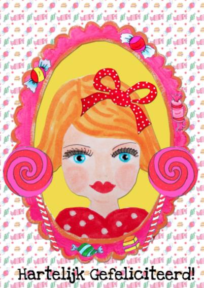 Verjaardagskaart Prinses PA 2