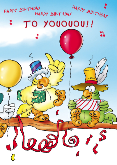 Verjaardagskaart Rocco 24 rocco als dirigent 3