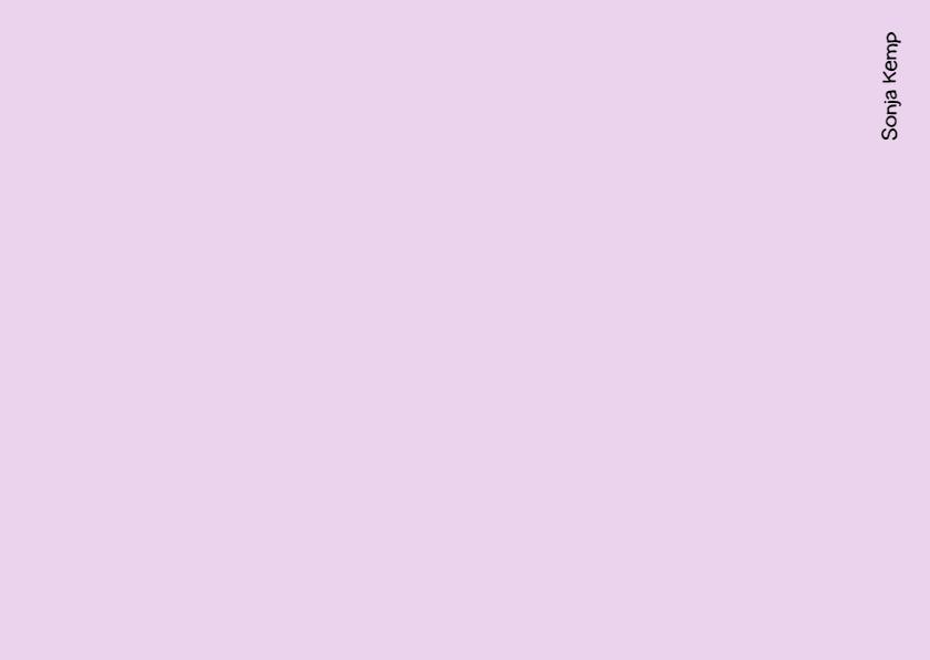 Verjaardagskaart roze rhododendron 2