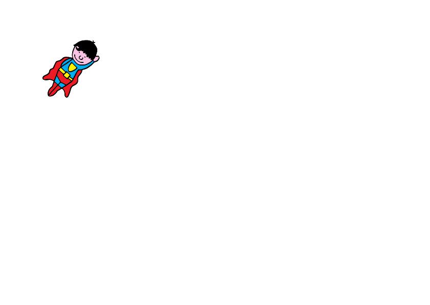 Verjaardagskaart superhelden  2