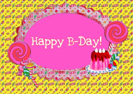 Verjaardagskaart Sweet 16 PA 2