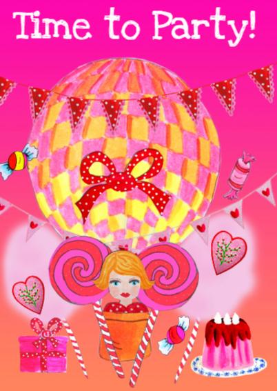Verjaardagskaart Sweet Girl PA 2