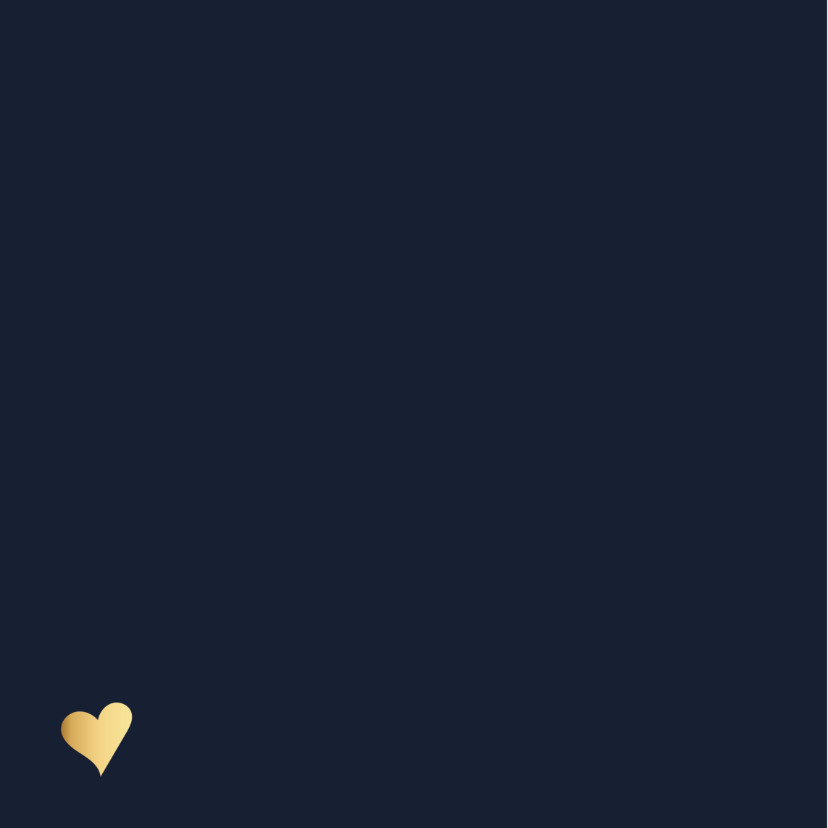 Verjaardagskaart Unicorn goud 2