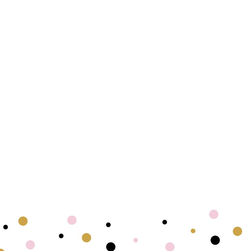 Verjaardagskaart waterverf confetti 2