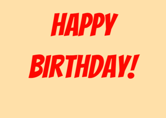 Verjaardagskaart-Wild Birthday! 2