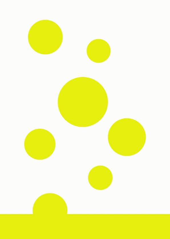 Verjaardagskaart Yellow 2