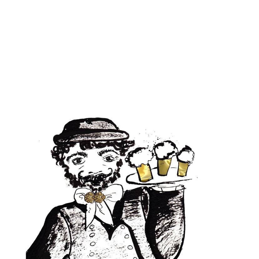 verjaardagskaart Zeeuws man bier 2