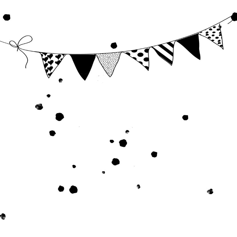 Verjaardagskaarten Confetti goud yo 2